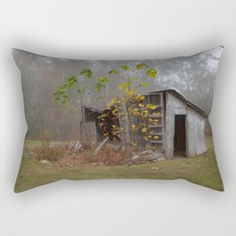 Misty Smokehouse Rectangular Pillow