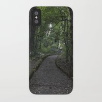 italian iPhone & iPod Cases featuring Italian forest by F130284