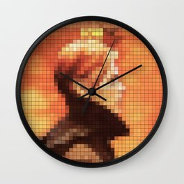 Bowie : Low Pixel Album Cover Wall Clock