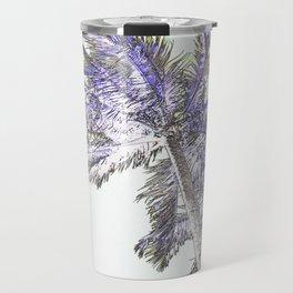 Palm abstract Travel Mug