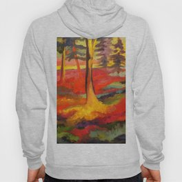Vibrant Forest Hoody