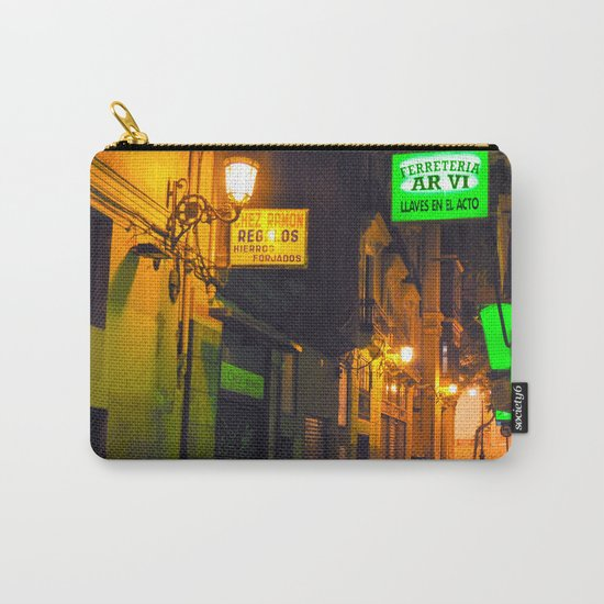 Nocturnal Alley - Valencia - Spain  Carry-All Pouch