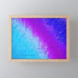 """""""Ocean Fog"""" Painting Framed Mini Art Print"""