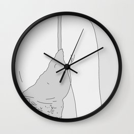 your breast Wall Clock