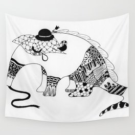 Annie the Antisocial Anteater Wall Tapestry