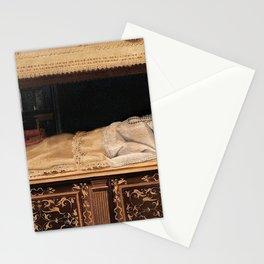 Lavinia Fontana - Newborn Baby in a Crib Stationery Cards