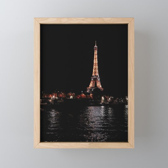 Rose Gold Eiffel Tower by mhenina