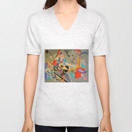 Kandinsky Composition Study Unisex V-Neck