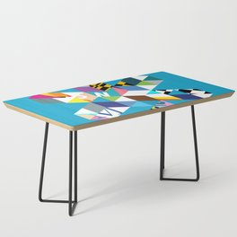 Collage Snowflake Coffee Table
