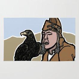 Mongolian Falconer Rug