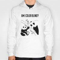 pandas Hoodies featuring Pandas by Raaz Herzberg