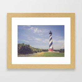 Cape Hatteras Lighthouse (3) Framed Art Print