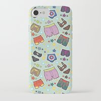 super heroes iPhone & iPod Cases featuring kinky super heroes by Audrey Molinatti