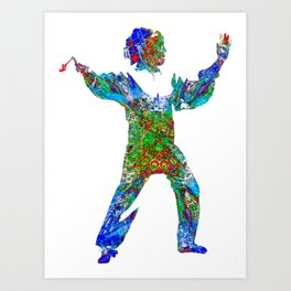 Tai Chi Art Print