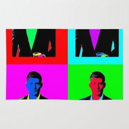 Jensen Ackles Pop Art Rug