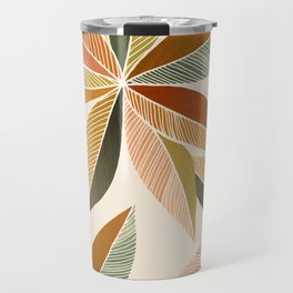 Autumn Japanese Maple / Botanical Design Travel Mug