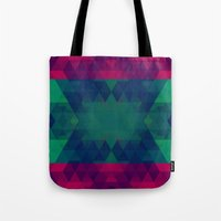 geo Tote Bags featuring Geo by Catherine Stuckrath