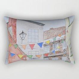 A Street in York Rectangular Pillow