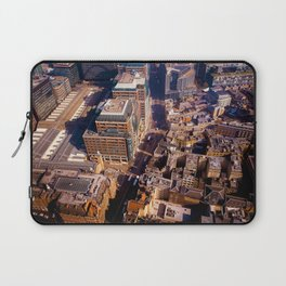 Aerial Cityscape (Color) Laptop Sleeve