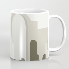 Mid Century Landscape 20002 Coffee Mug