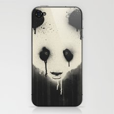 PANDA STARE iPhone & iPod Skin