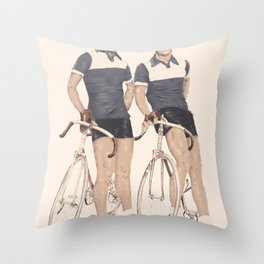 Le Tour  Throw Pillow