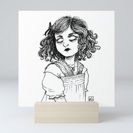 Baby Teef Mini Art Print