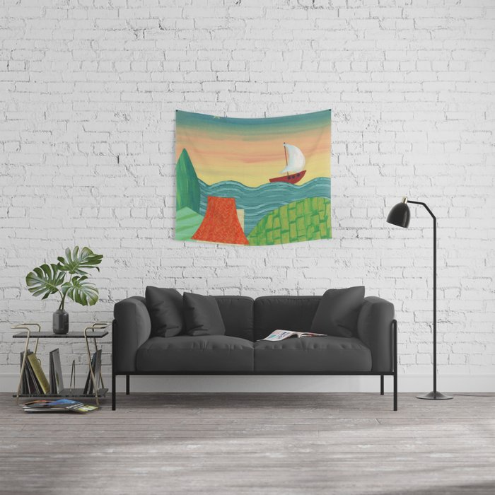The North Star Wall Tapestry