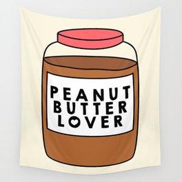 Peanut Butter Lover Wall Tapestry