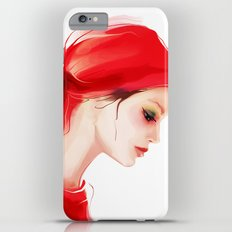 lady in  red Slim Case iPhone 6 Plus