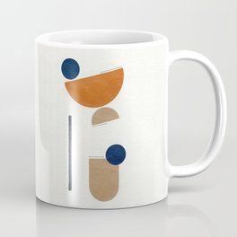 Noir Gallery Abstract Minimal Shapes Desert Coffee Mug