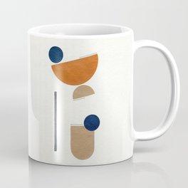 Noir Gallery Abstract Minimal Shapes Desert Coffee Mug