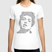 bob dylan T-shirts featuring Bob Dylan by S. L. Fina