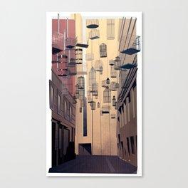 Birdcage Alley Canvas Print