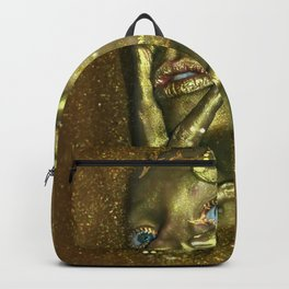 Bath in Gold Backpack