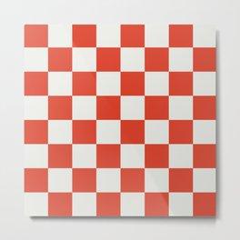 checkerboard 2 Metal Print