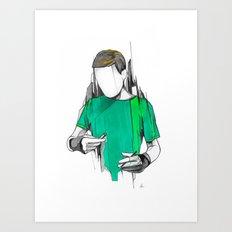 Alexis Art Print