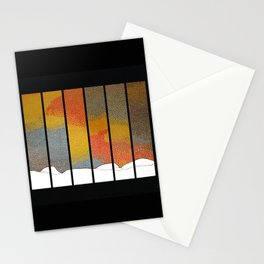 Sunfall Stationery Cards