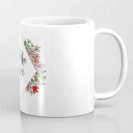 Go Take A Hike Floral Coffee Mug
