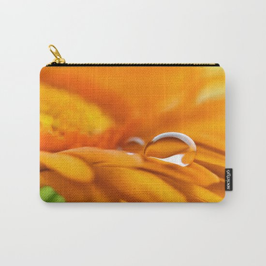 Gerbera water drops 141 Carry-All Pouch
