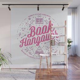 Book Hangover (Pink) Wall Mural