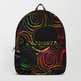 Velvety Swirls Backpack