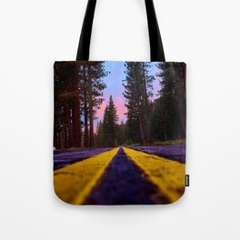 Down the Old Cabin Road Tote Bag