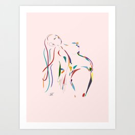Liberated! Art Print