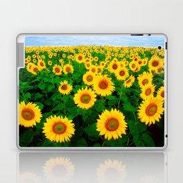 Sunflower art decoration ideas best design Laptop & iPad Skin