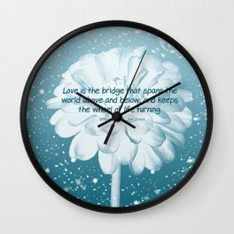 Love is... Wall Clock