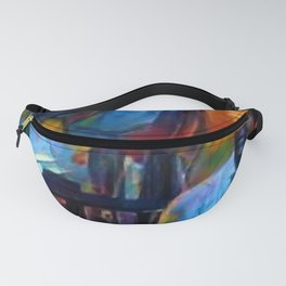 Ghosts of James Baldwin African American Portrait Fanny Pack