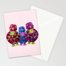 Patchwork Ducklings Stationery Cards