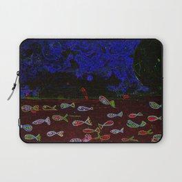Neon fish Laptop Sleeve
