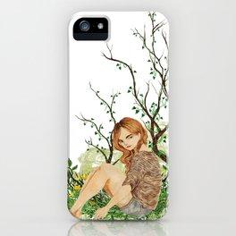 Malia Tate, Summer iPhone Case